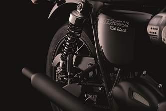 The iconic peashooter exhausts of the T120 Black