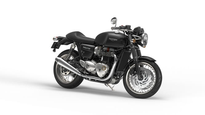Triumph Bonneville Thruxton in Jet Black