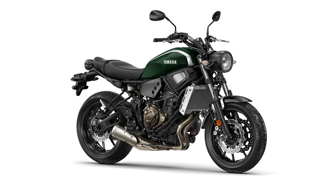 £6249 and available in the UK in January, this is Yamaha's XSR700