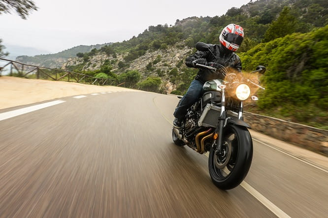 Practical, easy to ride and very well priced. Grab a ride on an XSR700