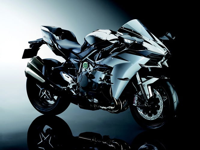 New paint finish and slip assist clutch on the 2016 Ninja H2