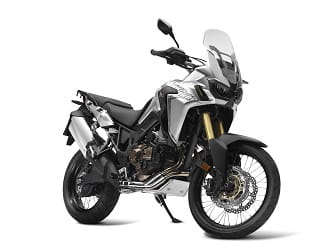 Honda Africa Twin looks good in any colour.