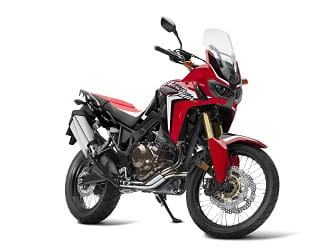 But looks even better in red, though the original Africa Twin colours are our favourite.