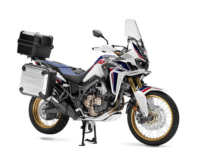 Honda's CRF1000L Africa Twin. We're in Africa riding it. Full review here.