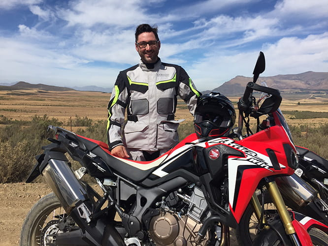 Bike Social's Marc Potter is among the first to have ridden the new Honda Africa twin