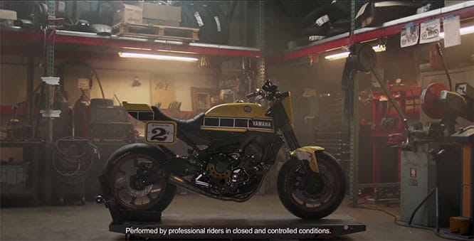 Stunning and aggresive looking MT-09 Dirt Tracker by Roland Sands