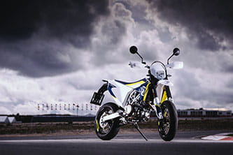 Enduro is one of the first two new streetbikes from the reborn brand