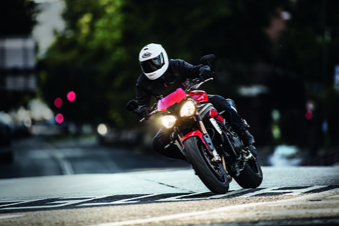 Expect the Speed Triple S to be priced around the �10k mark