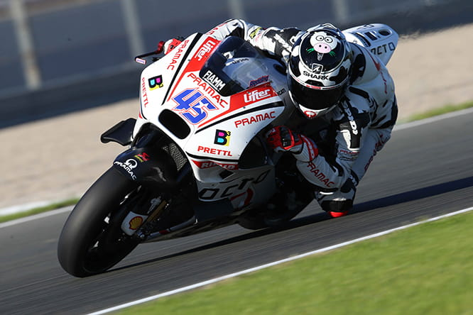 Redding was 11th fastest in the first day of testing