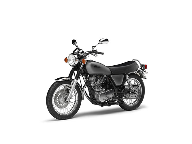 SR400 is kick start only