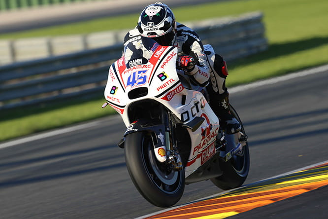 Redding showing full commitment on the Ducati