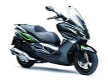 New J125 scooter from Kawasaki for 2016