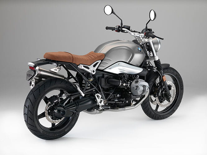 Air-cooled, six-speed, 1170cc Boxer twin engine for the R nineT Scrambler