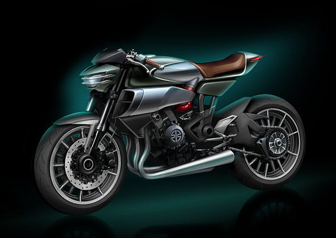 Spirit Charger - a Ninja H2-based supercharged concept