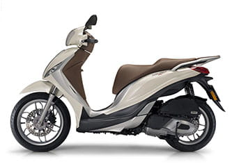 New for 2016: Piaggio Medley with an all-new 4-stroke 125cc