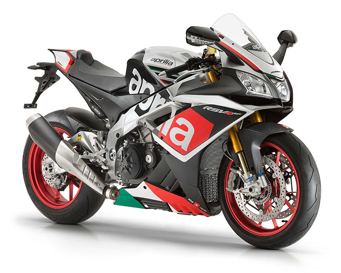 Factory-style support for racers and track day users...according to Aprilia