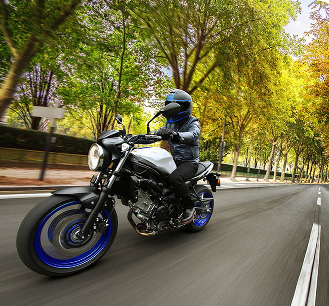 Over 140 new parts for the 2016 Suzuki SV650
