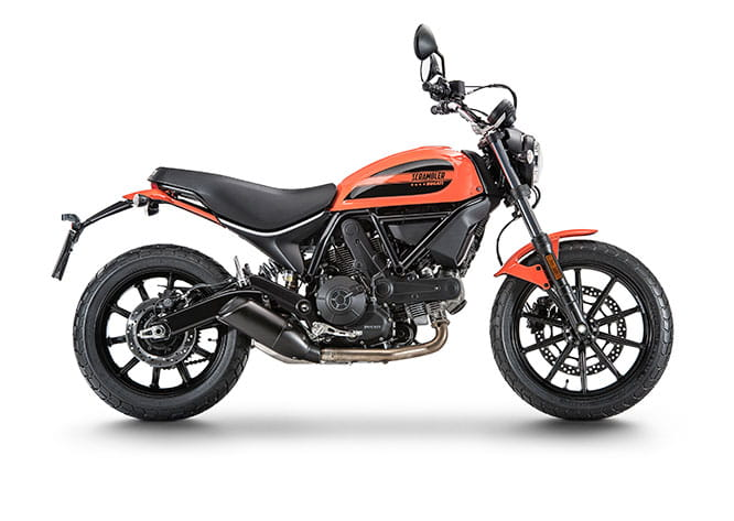Ducati Scrambler Sixty2 - base version of the hyper-popular model launched last year
