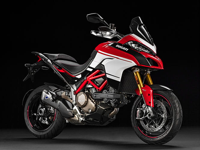 Pikes Peak edition of the Multistrada 1200 S