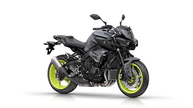Yamaha's MT-10 is pretty much a naked R1