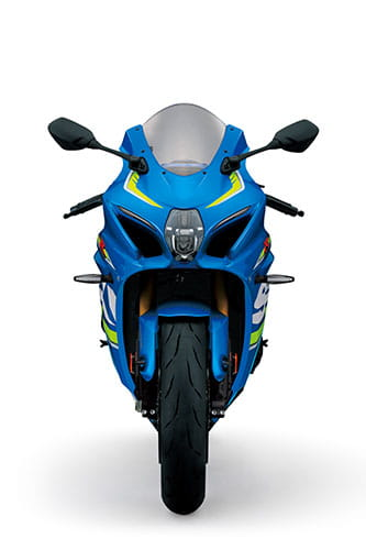 Suzuki claim the bike will be the lightest and most compact=