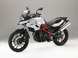 2016 BMW F700 GS in Light white non-metallic