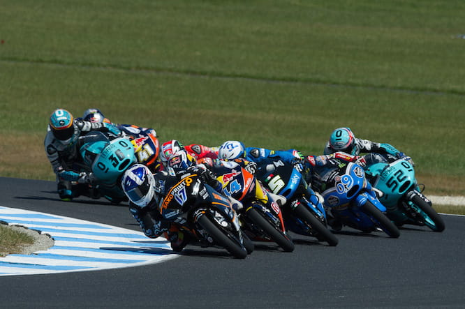 McPhee leads the pack in Australia