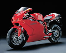 Ducati 749 - unleashed in 2003