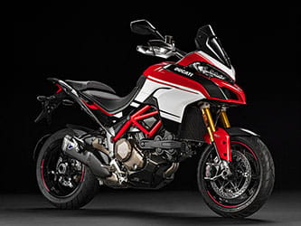 Pikes Peak version of the Multistrada gets GP-style paintjob