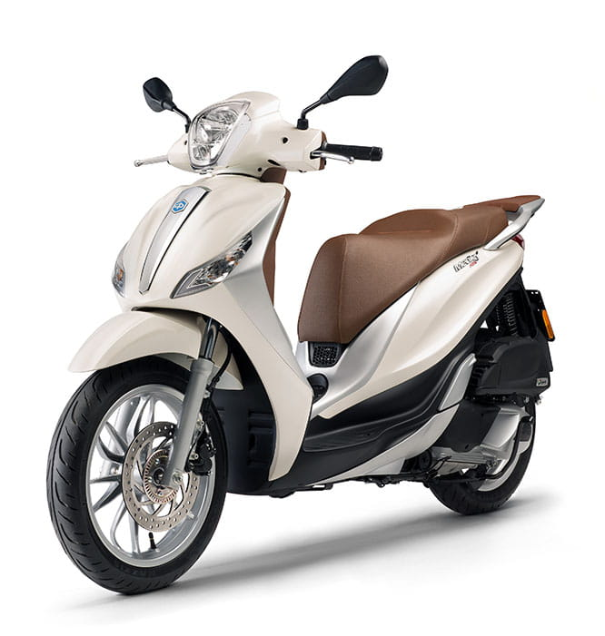 Piaggio Medley - one of two new scooters