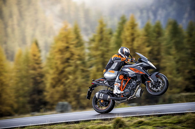 SuperDuke 1290 GT - a spiritual successor to the 990 SM-T