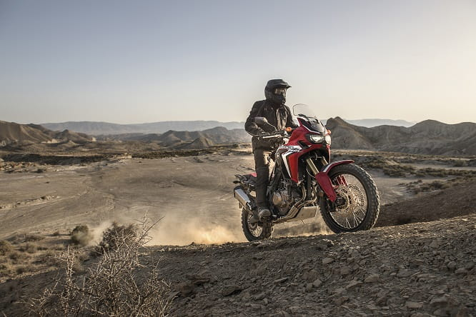 Bike Social's Marc Potter rides the Africa Twin next week, stay tuned for his full review