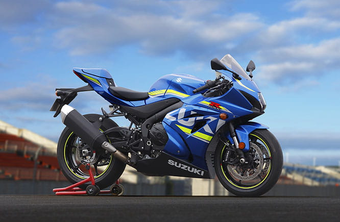 The GSX-R is 30 years old, here's the new one!