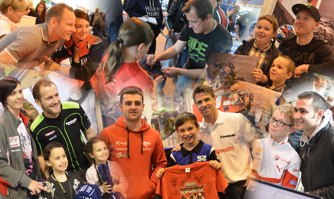 Meet all the riders at Motorcycle Live
