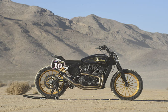 One of the Roland Sands quintet of flat-track Hooligan specials