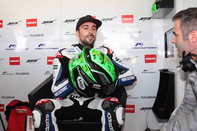Laverty suffered a broken wrist in the crash