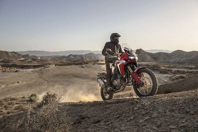 The Africa Twin will start at £10,499