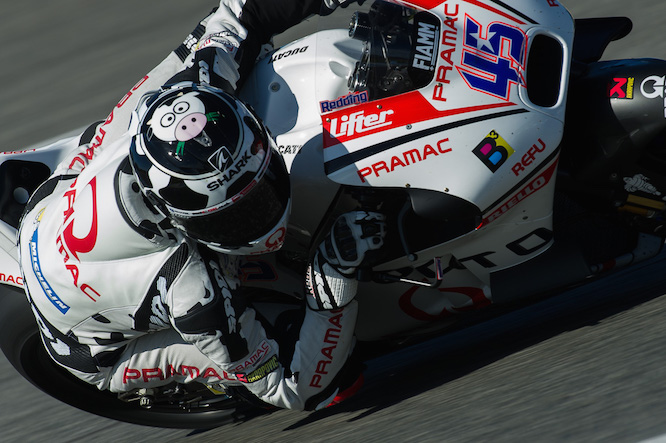Redding says he knows he will enjoy riding the GP15