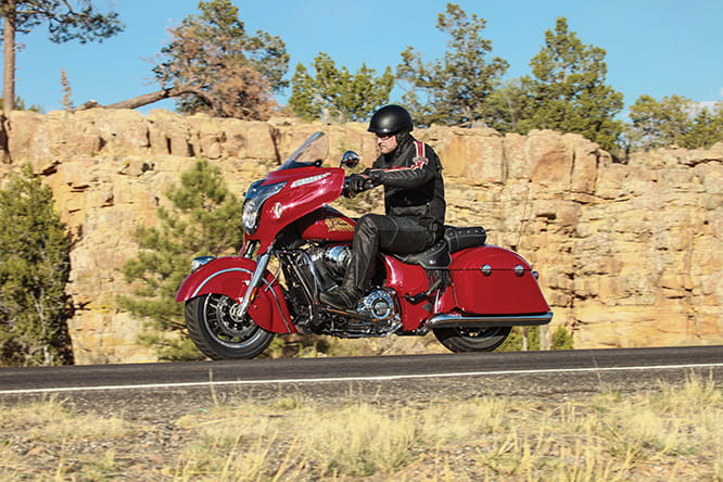 Powered by an all-new 1819cc V-Twin