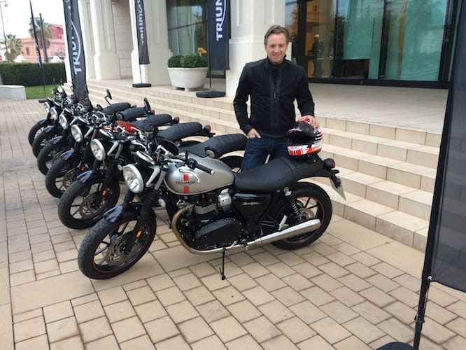 Michael Mann at the Street Twin launch
