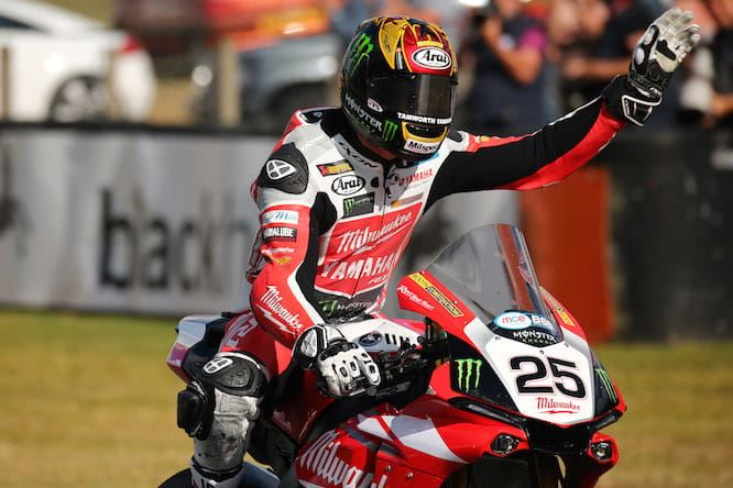 Brookes won the British Superbike title on the R1 this year