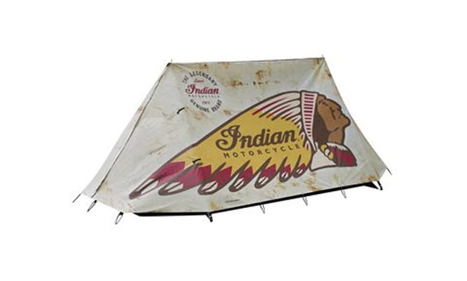 Indian Motorcycles tent - £500