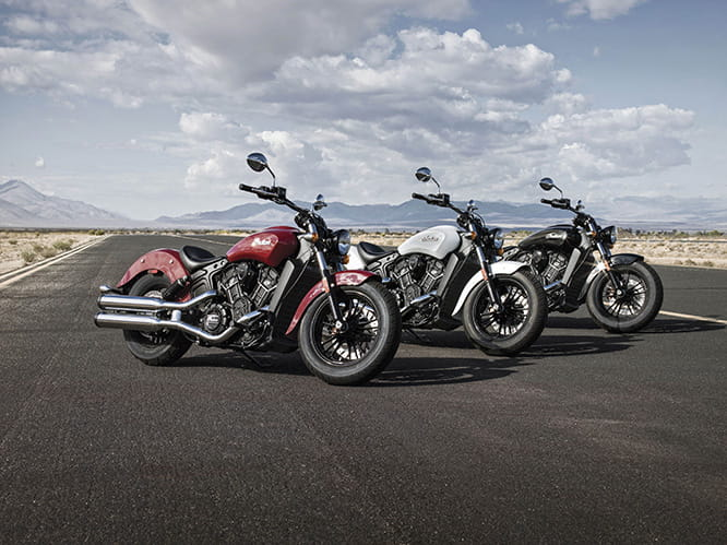 New-for-2016 Indian Scout Sixty