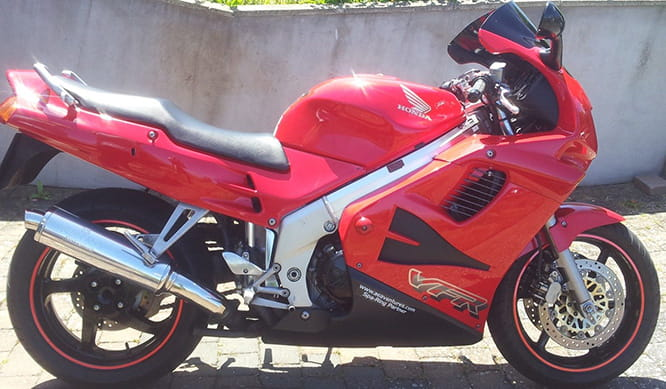A cracking commuter and worth every penny - Honda's VFR750F