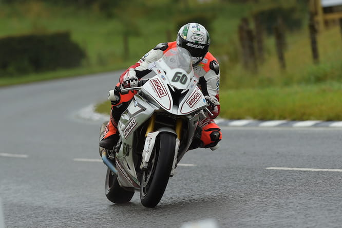 His Ulster GP win came in the wet
