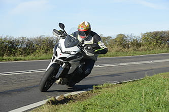 With 160bhp on tap, the Multistrada is fast