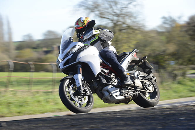 Multistrada in Sport mode is one hell of weapon