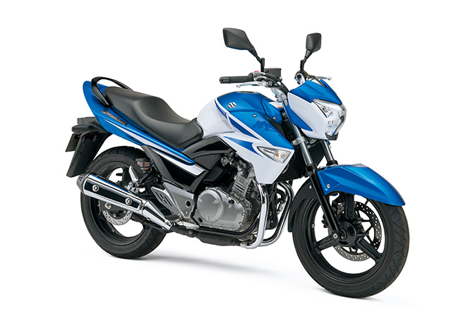 Suzuki Inazuma 250 - good for economy north of 85mpg