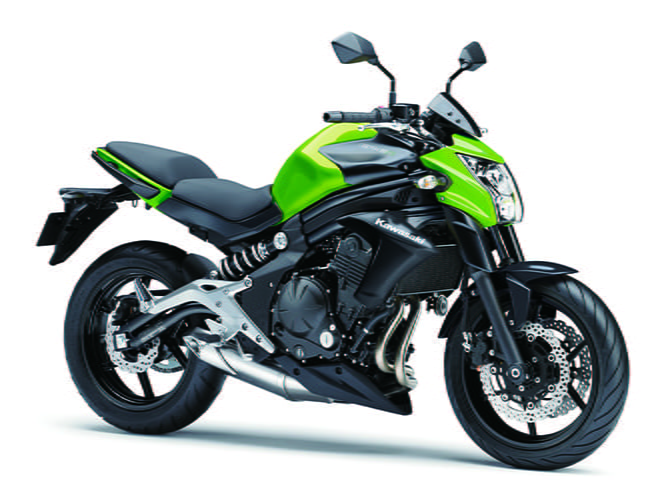 The same engine is also available in the Versys 650