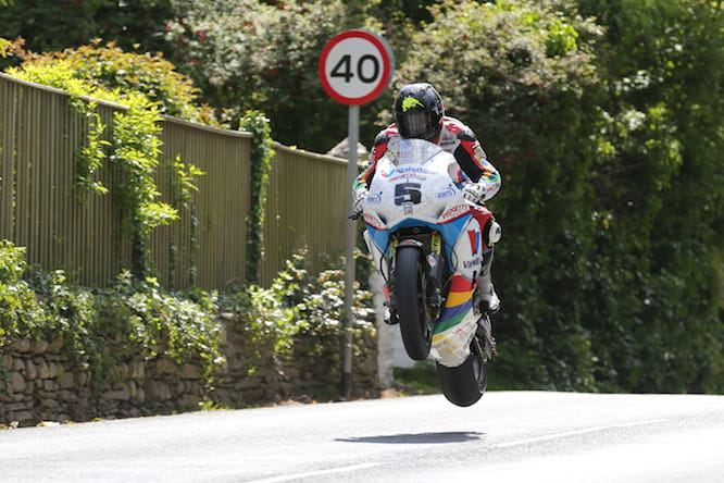 Bruce Anstey stays where he is